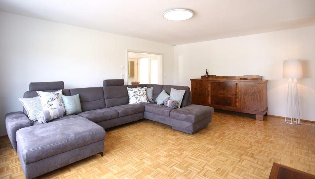 Ferienwohnung Waldfrieden, Sofa